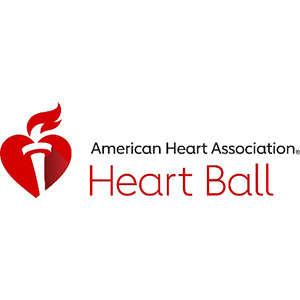 Logo for American Heart Association's Heart Ball program, an event in Wichita Bhargava supports