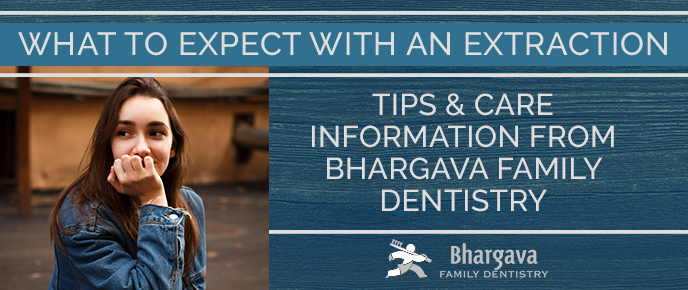 What to expect with tooth extractions graphic